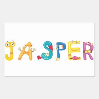 Jasper Sticker