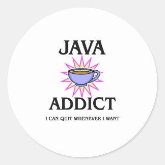 Java Addict Sticker