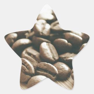Java beans! star sticker