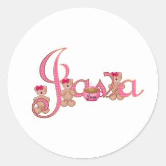 Java bears stickers