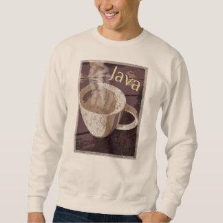 Java Coffee Mug Art Sweatshirt