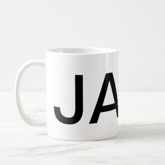 JAVA Giant Text Coffee Mug