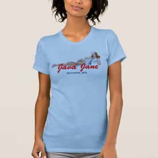 Java Jane Blue Baby Doll Tank Top w/ Rosie