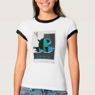 Java Junkie design t-shirt
