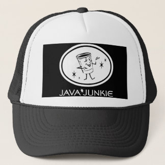 Java Junkie Trucker Hat