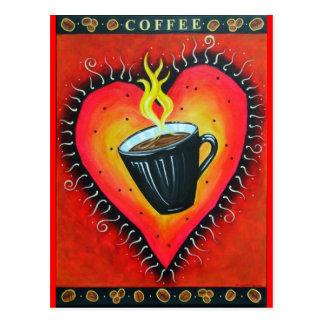 """""""Java Love"""" Postcard"""