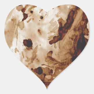 Java Rhino Heart Stickers