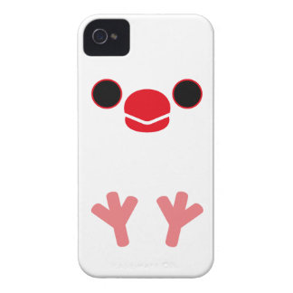 Java sparrow (White) iPhone 4 Covers
