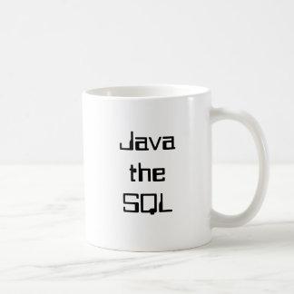 Java the SQL Basic White Mug