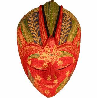 Javanese Mask Ornament Photo Sculpture Decoration