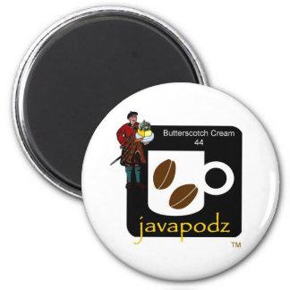 JavaPodz Butterscotch Cream Magnet