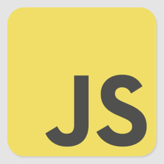 JavaScript Programming Language Sticker