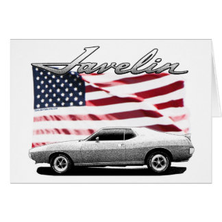 Javelin AMX muscle car Greeting Cards