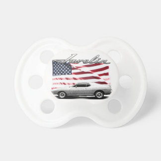 Javelin AMX muscle car Baby Pacifier