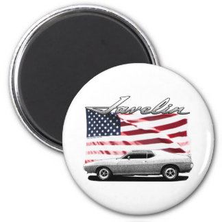 Javelin AMX muscle car Magnets