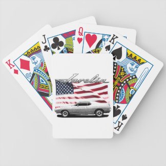 Javelin AMX muscle car Bicycle Poker Cards