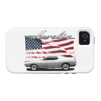 Javelin AMX muscle car Vibe iPhone 4 Cases