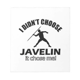 JAVELIN DESIGNS NOTEPAD
