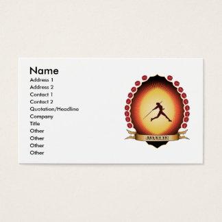 Javelin Mandorla Business Card