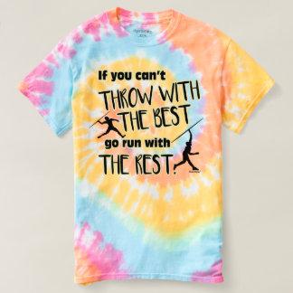 Javelin Throw With The Best- Women's Tie Dye T-Shirt