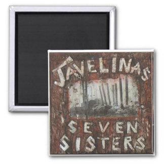 Javelinas Seven Sisters Magnet