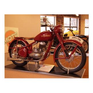Jawa 250 Vintage Motorcycle MOTO Museum St Louis Postcard