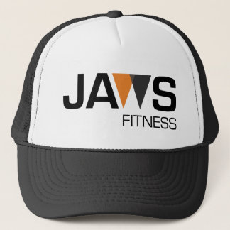 JAWs Fitness Logo Snap Back Trucker Hat