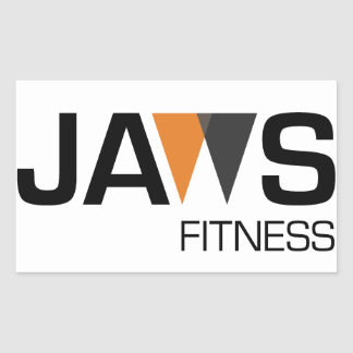 JAWs Fitness Sticker - 4 pack