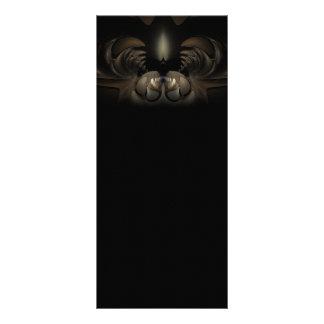 Jaws Fractal Artwork Personalized Rack Card