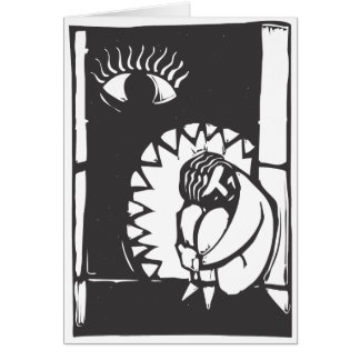 Jaws of Depression Card