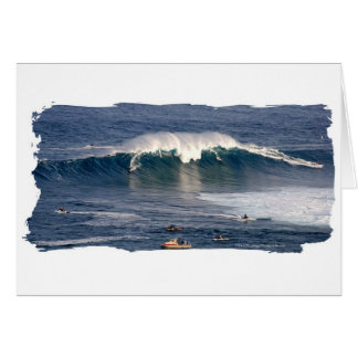 Jaws of Maui ~ Greeting Card