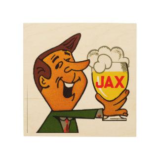 Jax Beer Wood Print