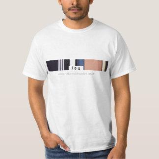 Jay Barcode Design Value T-Shirt