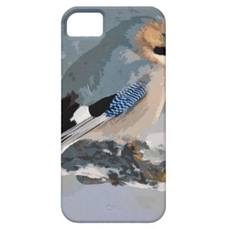 Jay Bird In Winter iPhone 5 Cover