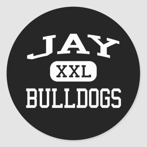 Jay - Bulldogs - Jay High School - Jay Oklahoma Stickers