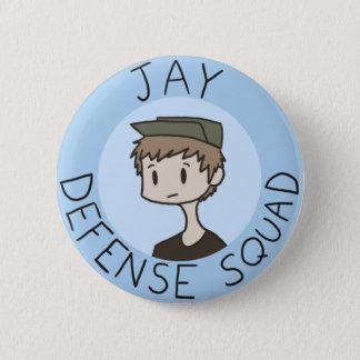 Jay Defense Squad Button