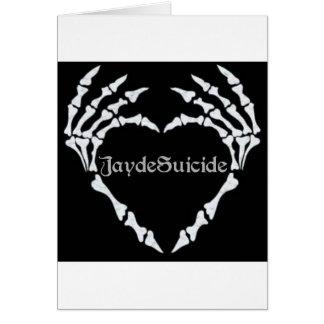 Jayde Suicide Logo Card