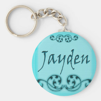 Jayden Scroll Key Ring