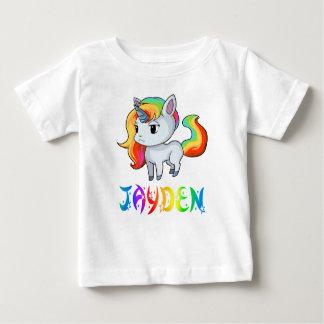 Jayden Unicorn Baby T-Shirt