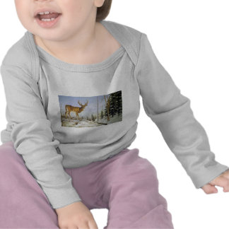 Jay's Peak, White Tail Deer T-shirt