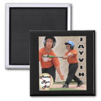 Jayvin Home Run Collage Fridge Magnets