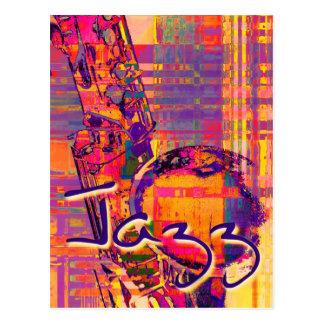 Jazz13 Postcard