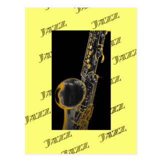 Jazz16 Postcard