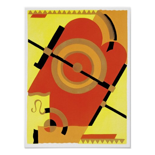 Jazz Age Art Deco Abstract Posters