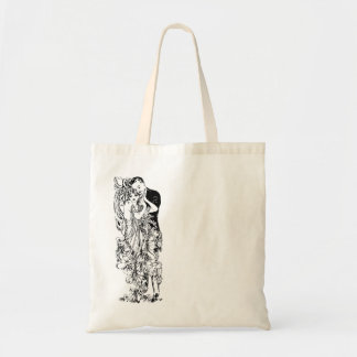 Jazz Age Dancing Partners Canvas Bags