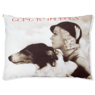 Jazz Age Vintage Photography:  GOING TO THE DOGS Pet Bed