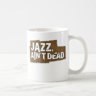 JAZZ AIN'T DEAD Logo Mug