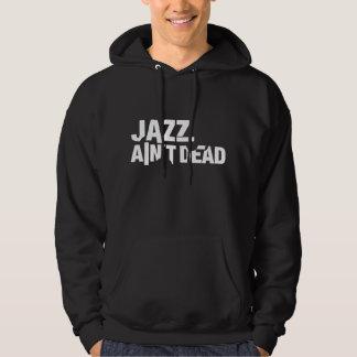 JAZZ AIN'T DEAD Unisex Dark Hooded Sweatshirt