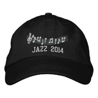 Jazz Band 2014 Embroidered Music Hat Baseball Cap