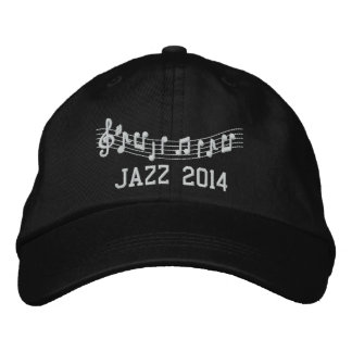 Jazz Band 2014 Embroidered Music Hat Embroidered Hat